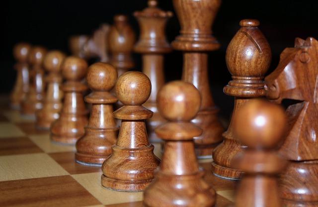 Brązowe szachy