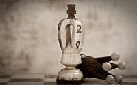 Pionki szachowe król i królowa